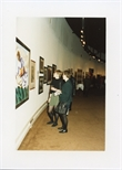 Photograph: Two Women at the Opening of 'Unique and Original' Exhibition (1992)