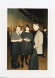 Photograph: Sue Mackechnie and Harry Magee at the Opening of 'Unique and Original' Exhibition (1992)