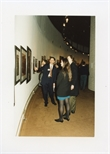 Photograph: Clive Jennings at the Opening of 'Unique and Original' Exhibition (1992)