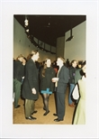 Photograph: Three Guests at Opening of 'Unique and Original' Exhibition (1992)