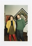 Photograph: Elaine Kowalsky and John Purcell at the Opening of 'Unique and Original' Exhibition (1992)