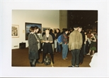 Photograph: Crowd of Guests at Opening of 'Unique and Original' Exhibition (1992)