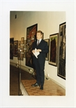 Photograph:  Richard Jobson Speaking at the Opening of 'Unique and Original' Exhibition (1992)