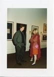 Photograph: Peter Howson at 'Unique and Original' Exhibition (1992)