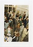 Photograph: Crowd at The Hunt - Jennings Gallery (1992)