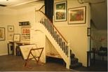Photograph: Interior of Hunt-Jennings Gallery (1992)