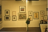 Photograph: Works on Display in Hunt-Jennings Gallery (1992)