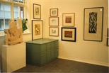 Photograph: Collection of Works on Display in Hunt-Jennings Gallery (1992)