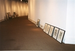 Photograph:  Framed Works for Installation in Unique and Original at Barbican (1992)