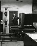 Photograph: Dark Room at Glasgow Print Studio