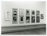 Photograph: Exhibition Posters on Display at Alive and Printing (1993)