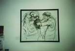 Photograph: Unidentified Peter Howson Work at Bosnian Harvest (1994)