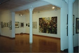 Photograph: Sanctuary and Other Works at Bosnian Harvest Exhibition (1994)
