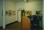 Photograph: Reception Desk at La Terre Sauvage (1994)