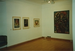 Photograph: Four Works Displayed at La Terre Sauvage (1994)