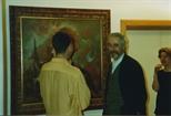 Photograph: John Byrne at La Terre Sauvage (1994)