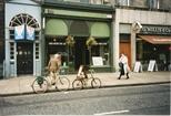 Photograph: Exterior of festival shop in Edinburgh (1994/5)