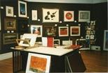 Photograph: Interior of festival shop in Edinburgh (1994/5)
