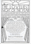 Ticket application form for The Loveliest Night of the Year (1985)