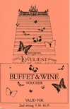 Loveliest Night of the Year Buffet Ticket (1981)