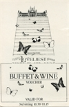 Loveliest Night of the Year Buffet Voucher (1981)