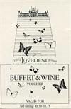 Loveliest Night of the Year Buffet Voucher (1981)