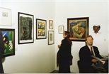 Photograph: Various prints from the Red Ribbon Art Show and Auction (1995)