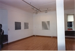 Photograph: 3 works from Bridget Riley exhibition (1996)