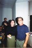 Photograph: Social gathering in Glasgow Print Studio Gallery (1996)
