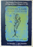 Exhibition Poster - Elspeth Lamb, Crossing the Water