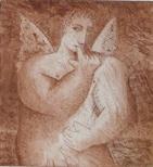 Untitled (Coy Angel)