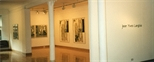 Photograph: Several Jean Yves Langlois prints in the Glasgow Print Studio Gallery (1997)