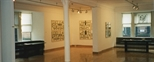 Photograph: Glasgow Print Studio Gallery during the Jean Yves Langlois exhibition (1997)