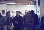 Photograph: Exhibition at Glasgow Print Studio Gallery in Ingram Street