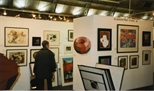 Photograph: Glasgow Print Studio stand at 'Art 97' in London (1997)
