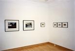 Photograph: Glasgow Print Studio Gallery during 'Blueprints' exhibition (1997)