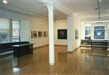 Photograph: Glasgow Print Studio during the Tim Mara exhibition 'Tim Mara - A Slightly Obsessional Printmaker' (1997)