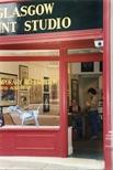 Photograph: Glasgow Print Studio Festival on Castle Street in Edinburgh (1997)