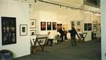 Photograph: Glasgow Print Studio's stand at Art 1997 Chicago (1997)