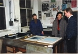 Photograph: Printing Exhibition Posters