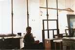 Photograph: Douglas Thomson in the Workshop