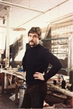 Photograph: Jonathan Robertson in the Workshop