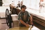 Photograph: Gregor Hiltner in the Workshop