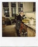 Photograph: Janka Malkowska in the Workshop