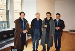 Photograph: Artists in the Glasgow Print Studio Gallery
