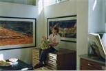 Photograph: Exhibition in Glasgow Print Studio Shop