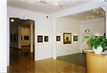 Photograph: Glasgow Print Studio Gallery during the exhibition 'Neil MacPherson - Paintings' (1998)