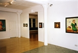 Photograph: The opening of the exhibition 'Neil MacPherson - Paintings' in Glasgow Print Studio Gallery (1998)