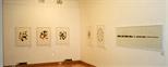 Photograph: Glasgow Print Studio Gallery during the exhibition 'Robert Paul - Reflexology' (1999)