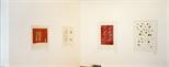 Photograph: 4 lithographs by Robert Paul from his exhibition Robert Paul - Reflexology' (1999)